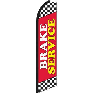 Brake Service Swooper Feather Flag