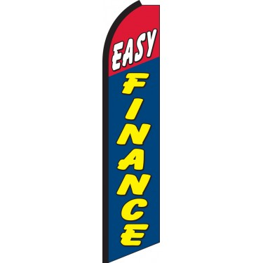 Easy Finance Swooper Feather Flag