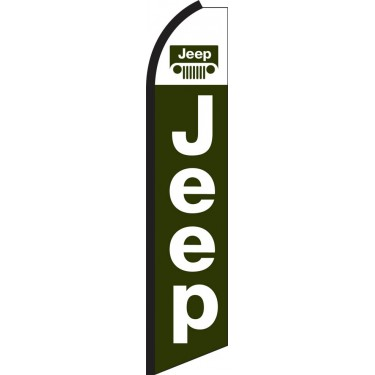 Jeep Swooper Feather Flag