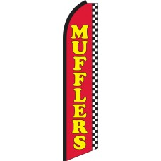 Mufflers Swooper Feather Flag