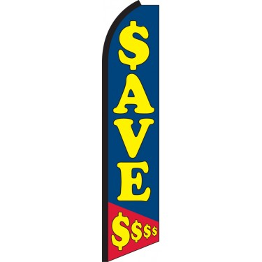 Save $$$ Swooper Feather Flag