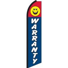 Warranty Swooper Feather Flag
