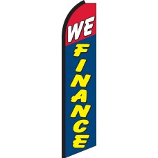 We Finance Swooper Feather Flag