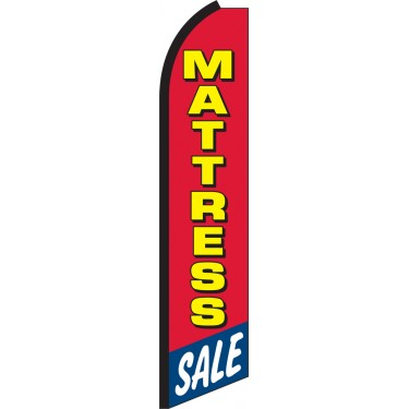 Mattress Sale Swooper Feather Flag