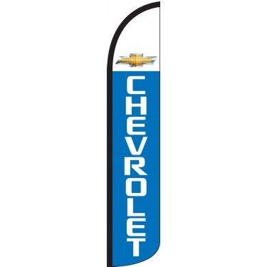 Chevrolet Wind-Free Feather Flag