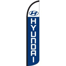 Hyundai Wind-Free Feather Flag