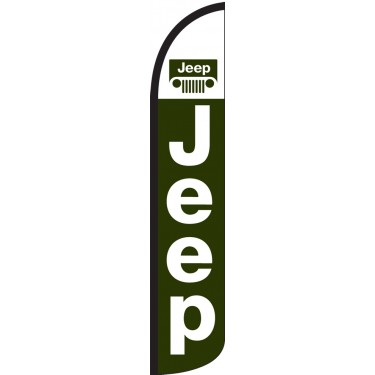 Jeep Wind-Free Feather Flag