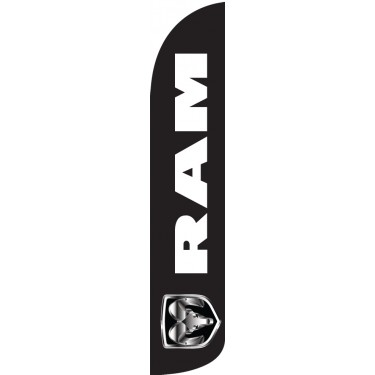 RAM Wind-Free Feather Flag