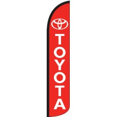 Toyota Wind-Free Feather Flag
