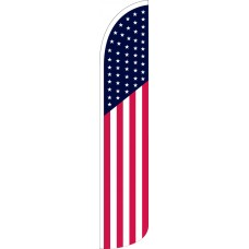 USA Wind-Free Feather Flag