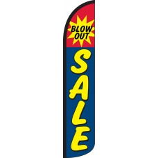 Blow Out Sale Wind-Free Feather Flag