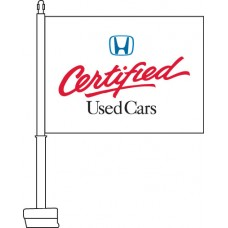 Honda Certified Used Cars Car Flag