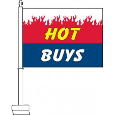 Hot Buys Car Flag