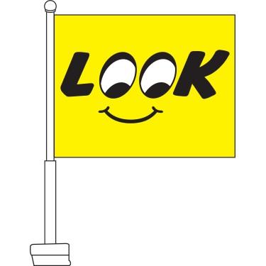 Look Car Flag