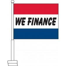 We Finance Car Flag