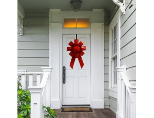 "Big Front Door Bow - 22"" Giant Bow For House"