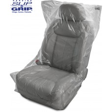 .5 Mil Thick Slip-N-Grip® Economy Plastic Disposable Seat Covers (Roll of 500)